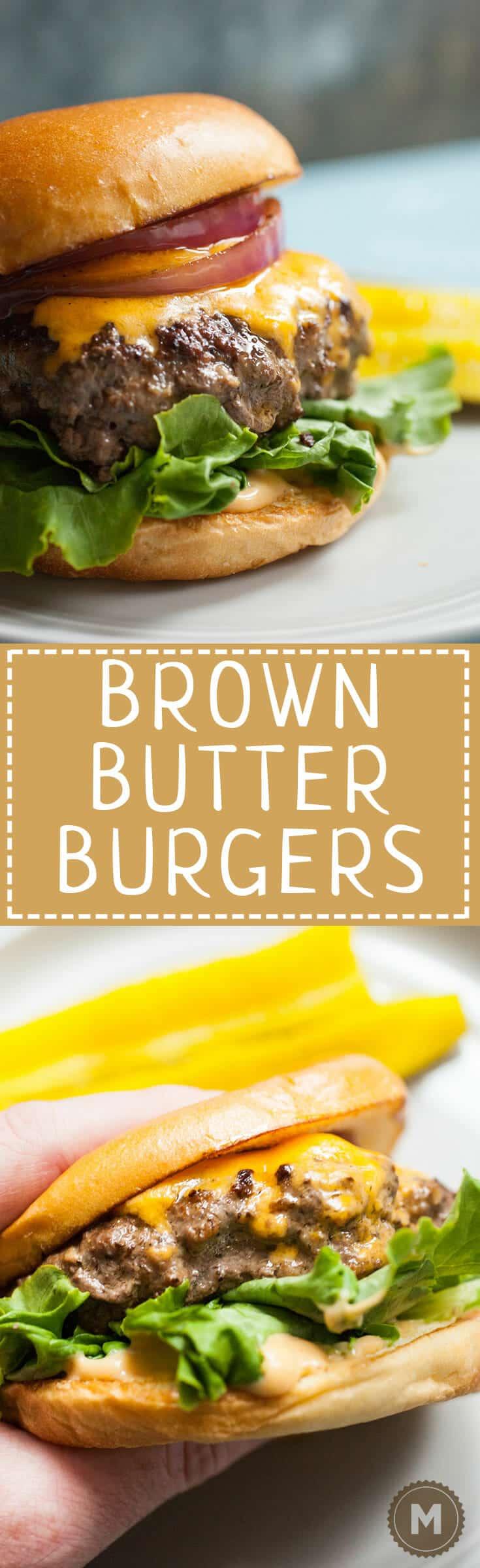 Brown Butter Burger
