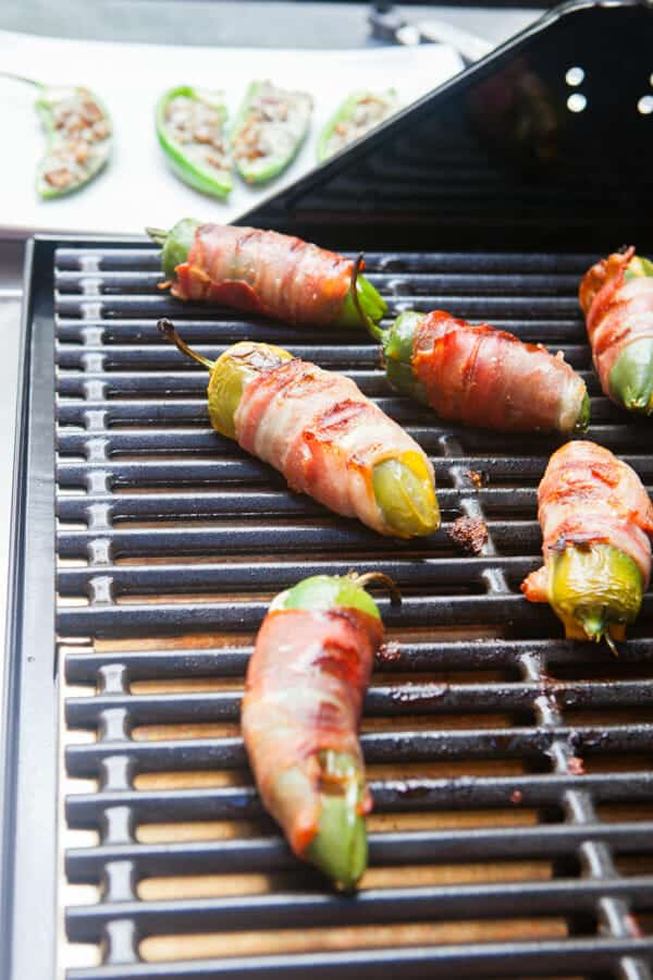 Three Easy Grilled Jalapeno Poppers: One of my favorite quick grilling appetizers for parties is jalapenos poppers. These are three of my favorite versions that'll be on my grill many times this summer. | macheesmo.com