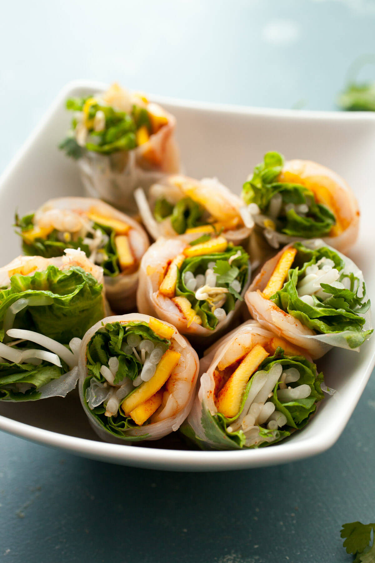 Chili Mango Shrimp Spring Rolls: These Light And Refreshing Spring Rolls  Are The Perfect Way