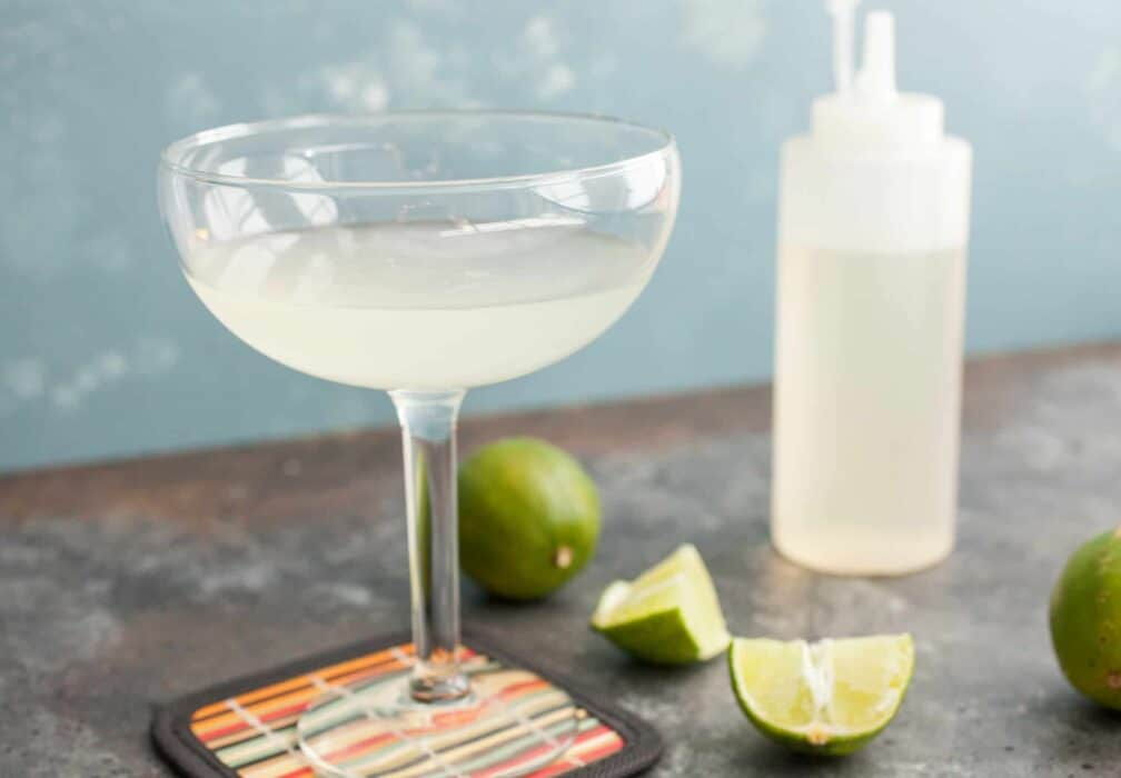 Classic Daiquiri Cocktail: Every time I see a Daiquiri mix, I shutter. All you need for this classic delicious cocktail is a few things you probably already have. Make the real version and cheers to summer! | macheesmo.com