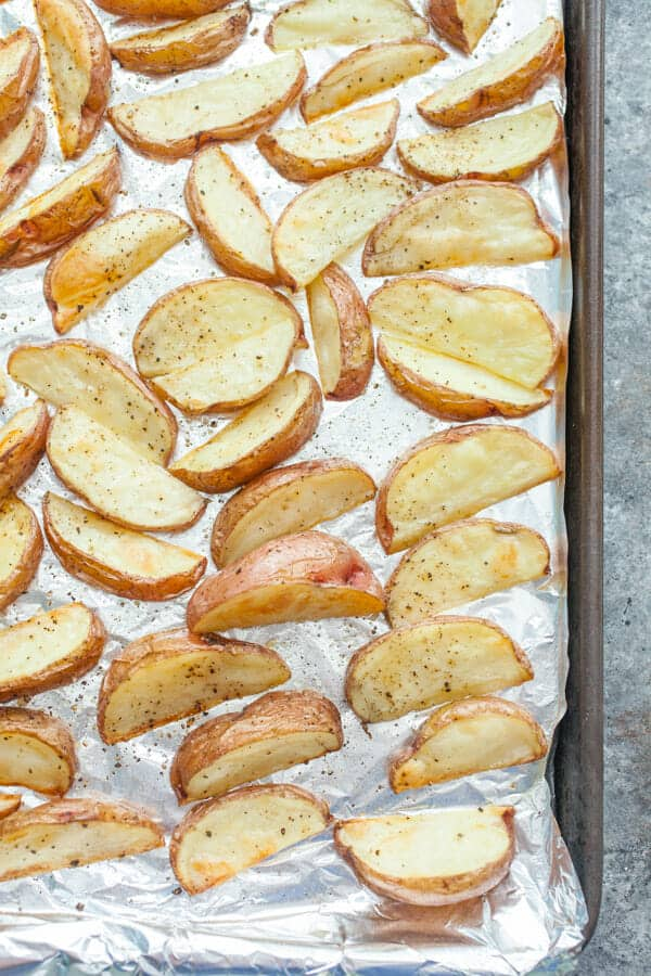 Salt and Vinegar Potato Wedges