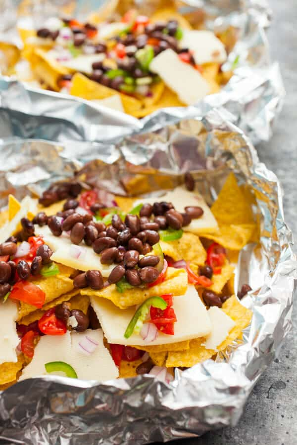 black bean nacho grill packs