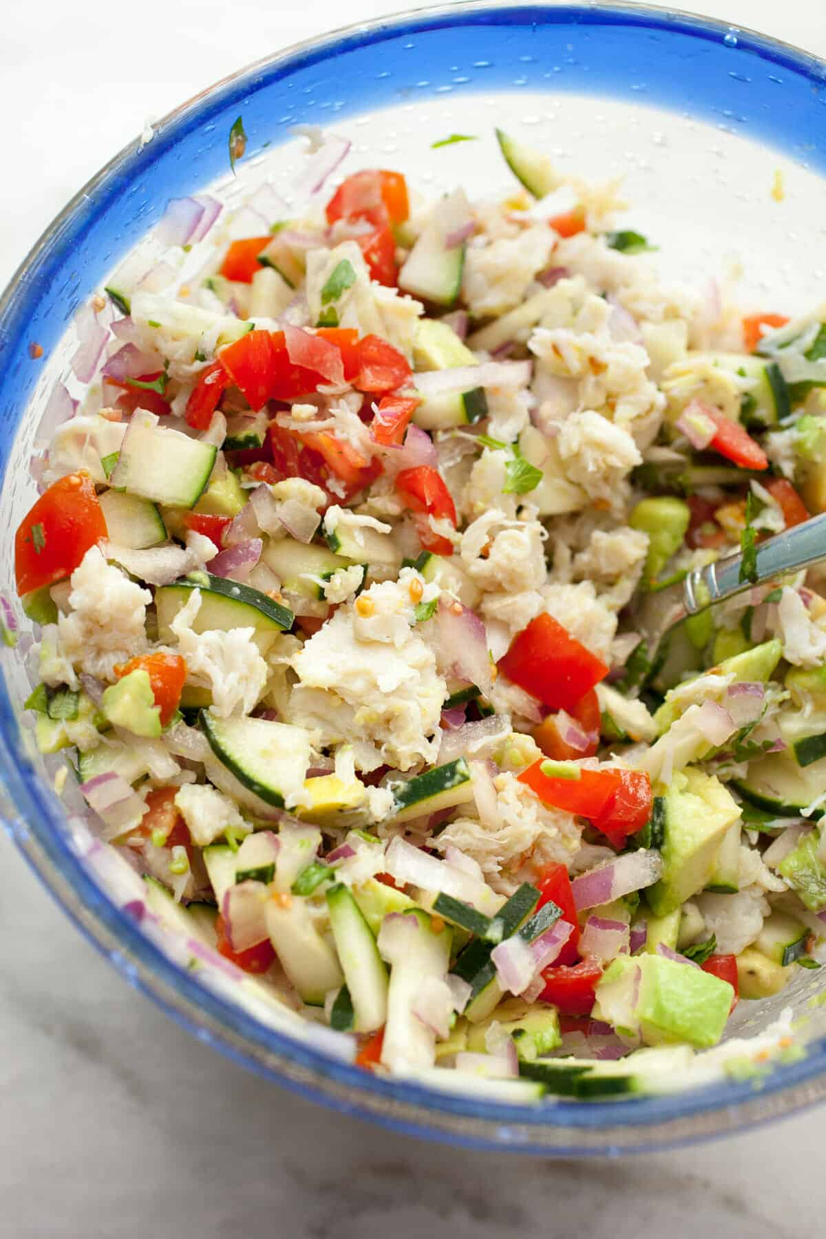 Easy Crab and Avocado Salad