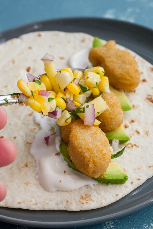 Kid Friendly Fish Tacos