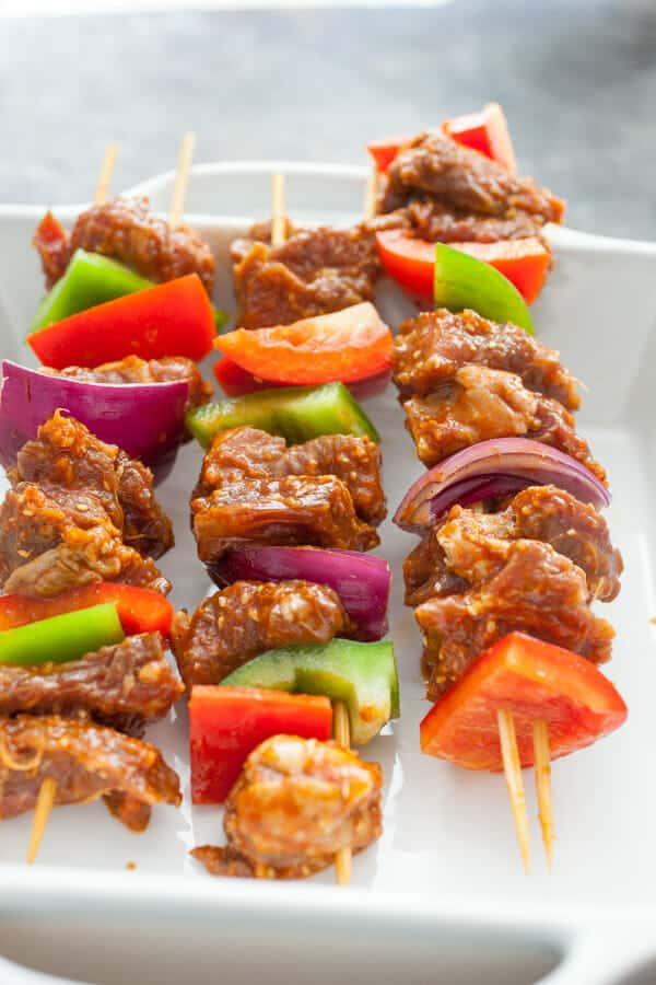 Bulgogi Steak Kabobs