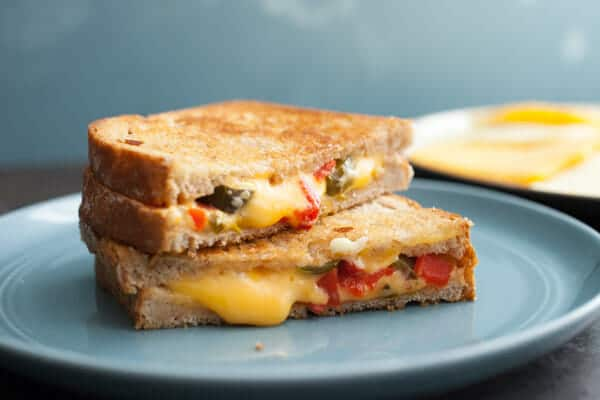 Spicy Pimento Grilled Cheese