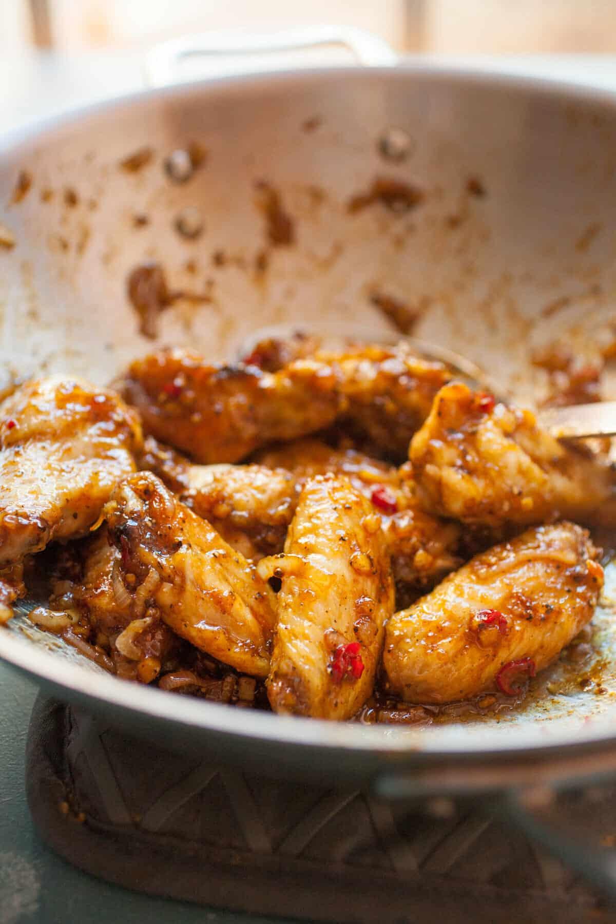 Black Pepper Chicken Wings