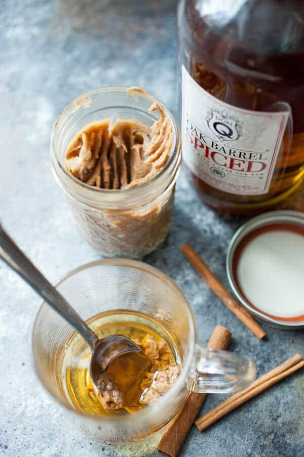 Hot Buttered Rum in a Jar