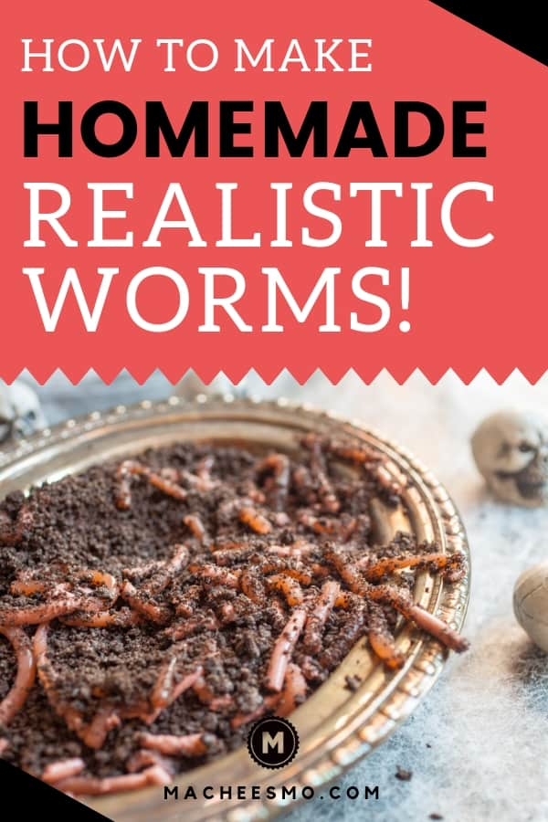 Homemade Realistic Worms