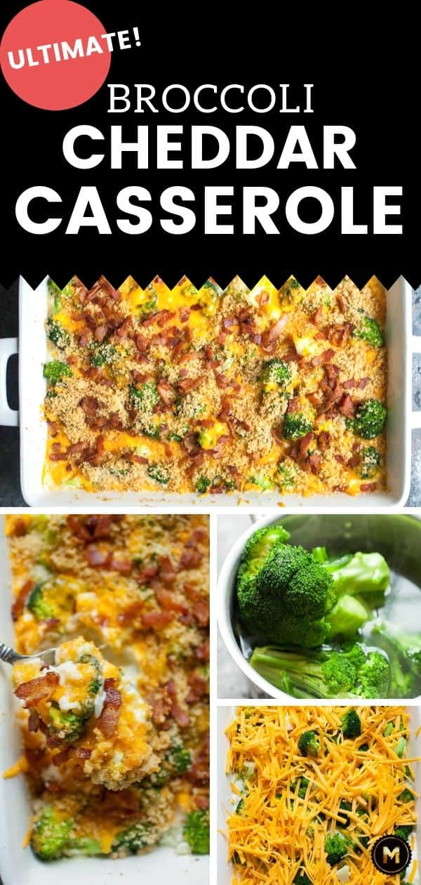 Broccoli Cheddar Casserole From Scratch