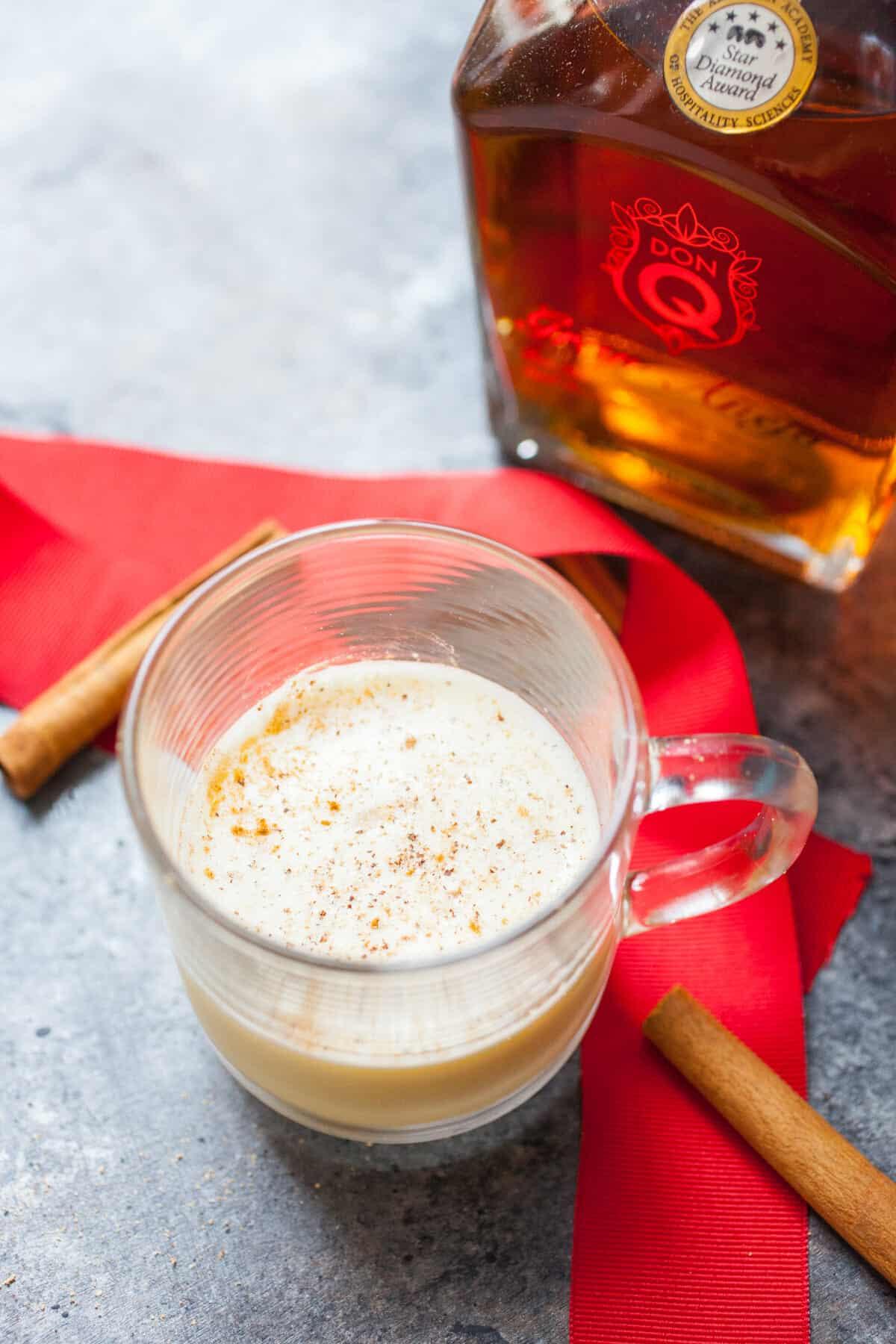 Rum Flip Cocktail