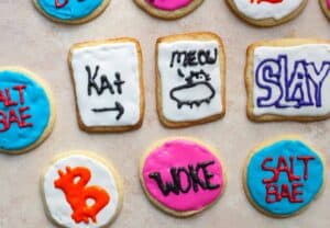 2017 was the year of the meme and so I thought I'd make some fun cookies based on some of the fun memes I saw in 2017. Leave a comment with the meme you would want in cookie form! | macheesmo.com
