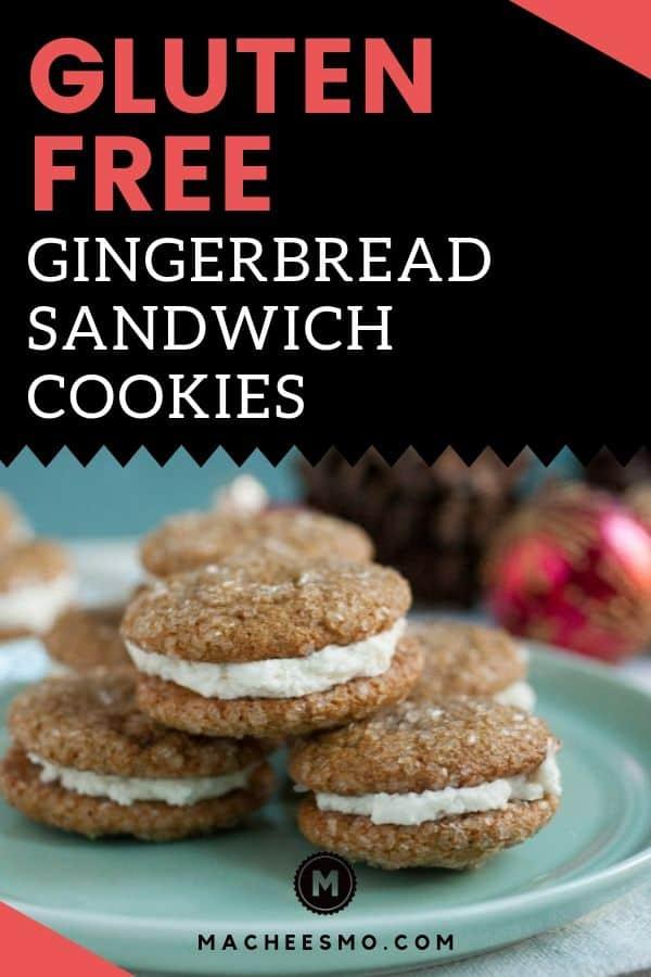 Gluten Free Gingerbread Sandwich Cookies