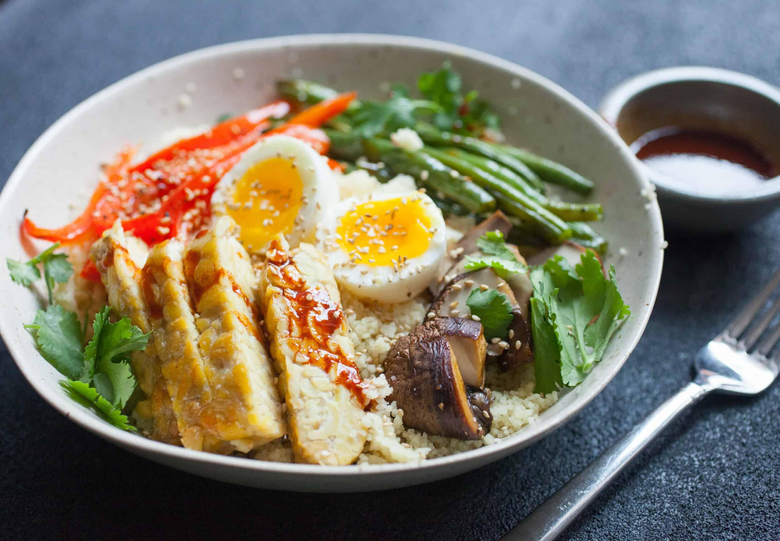 Healthy Winter Recipes - Sheet Pan Buddha Bowls