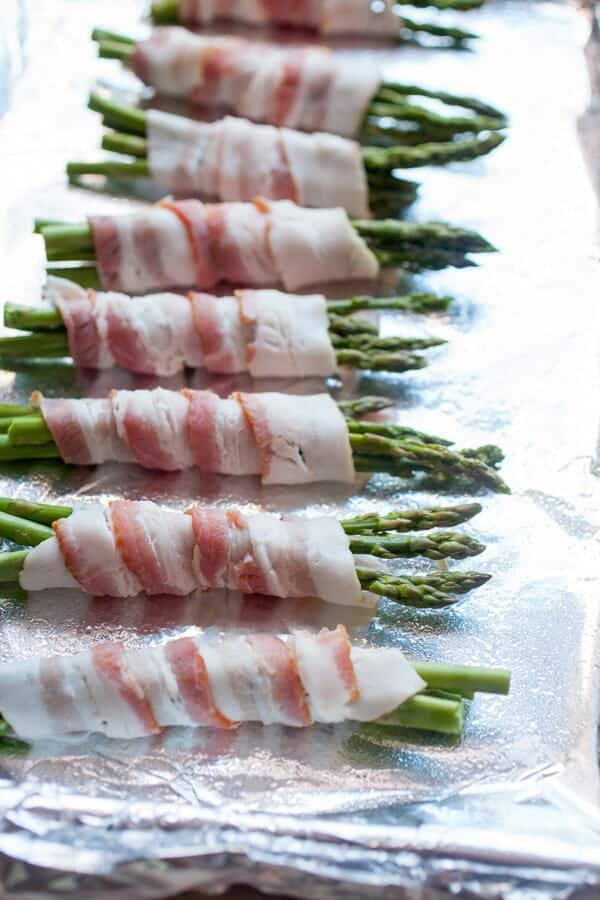 Asparagus Bundle Pasta