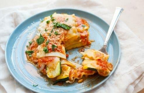 Freeform Veggie Lasagna Stack