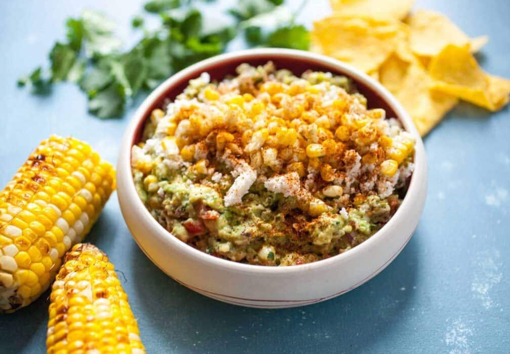 Street Corn Guacamole Recipe