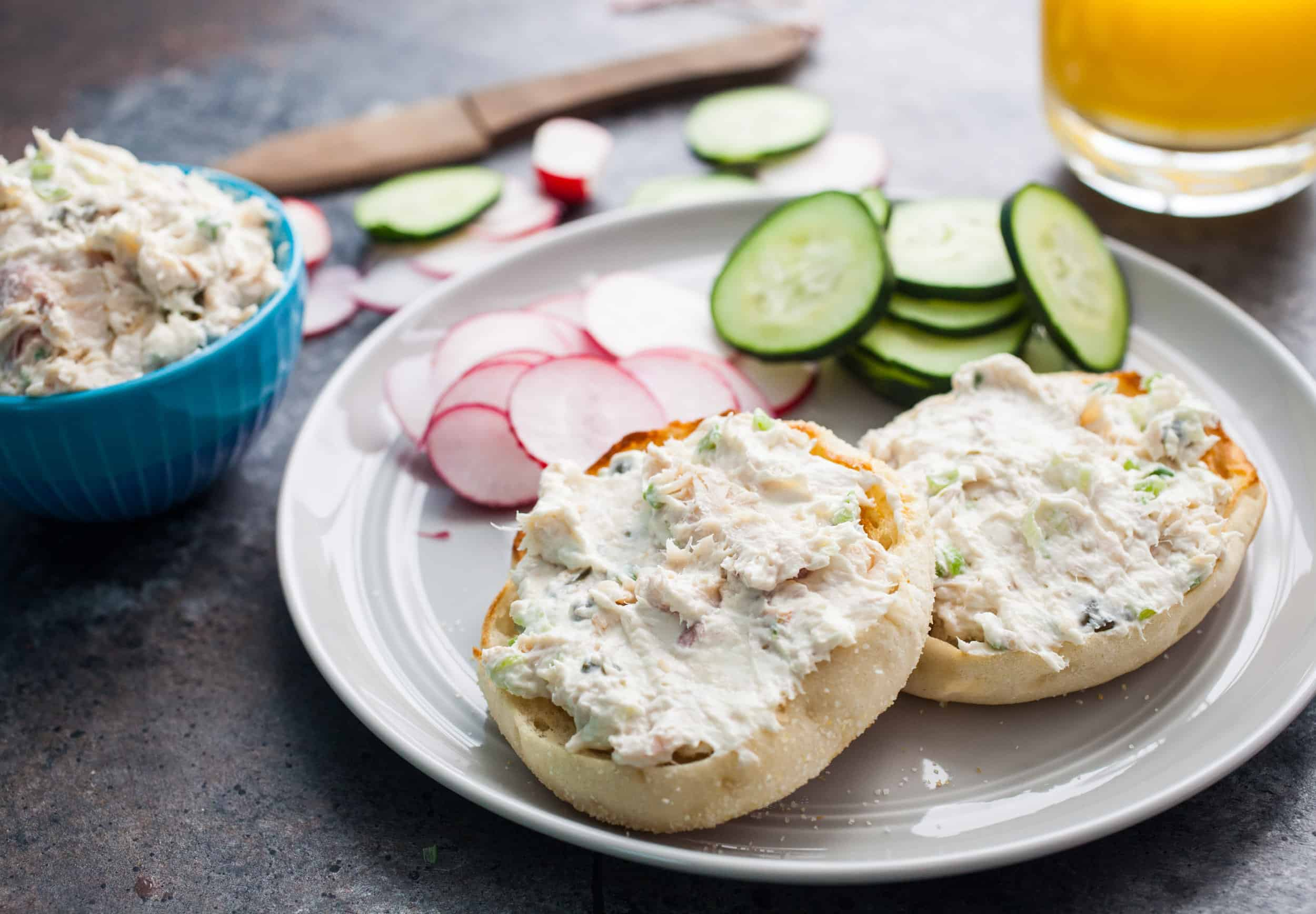 Smoked Trout Breakfast Spread
