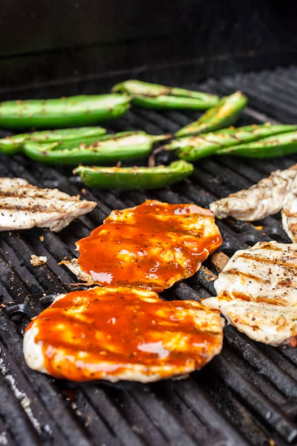 Grilling Chicken Sandwich