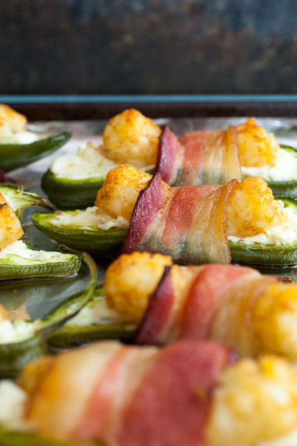 Tater Tot Jalapeno Poppers