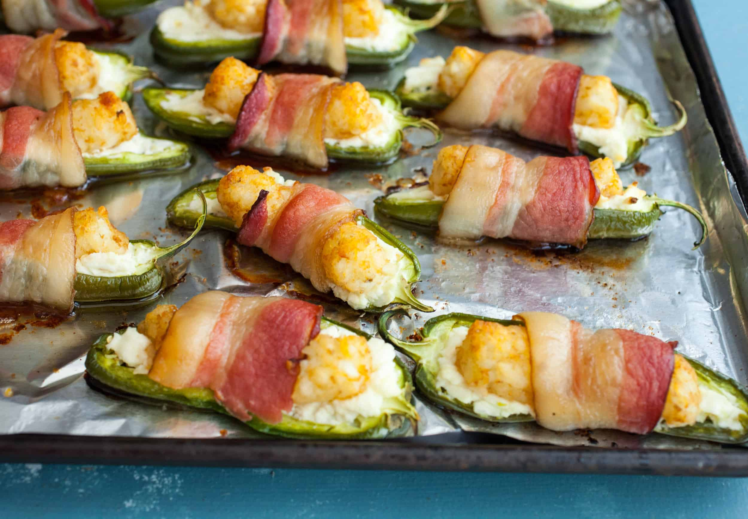 Tater Tot Jalapeno Poppers from Tots!