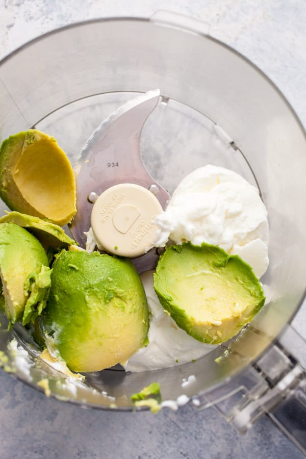 Creamy Cilantro Avocado Dip