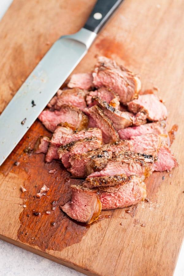 Grilled Lamb Bites
