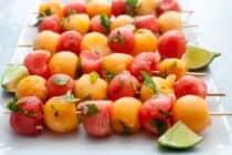 Mojito Fruit Kabobs