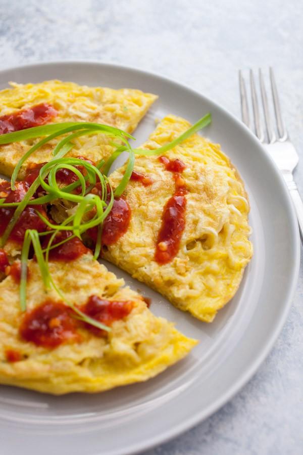 Ramelette - The Ramen Omelette