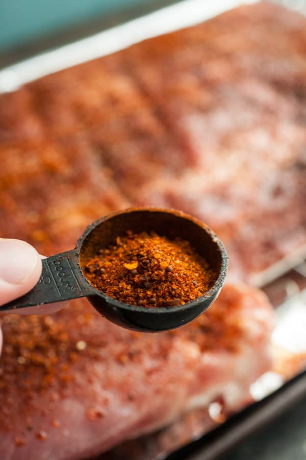 Spice rub for ribs.