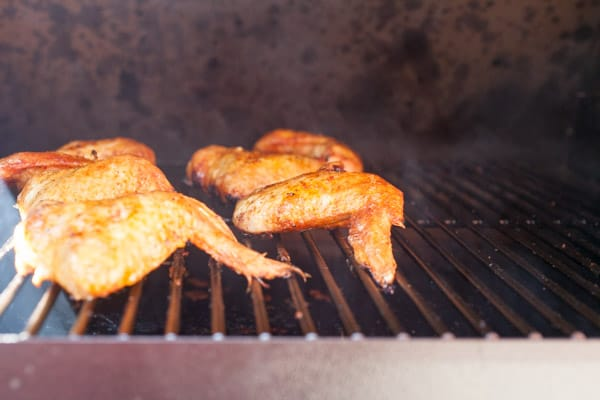 Wings on Traeger
