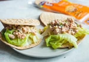 Crunchy Pickle Ham Salad