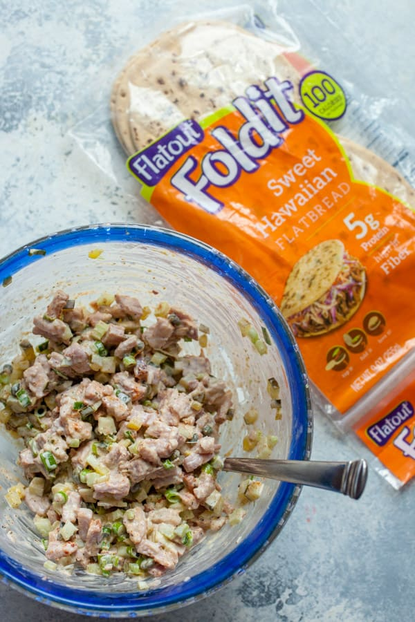 Ham Salad Recipe with Crunchy Pickles
