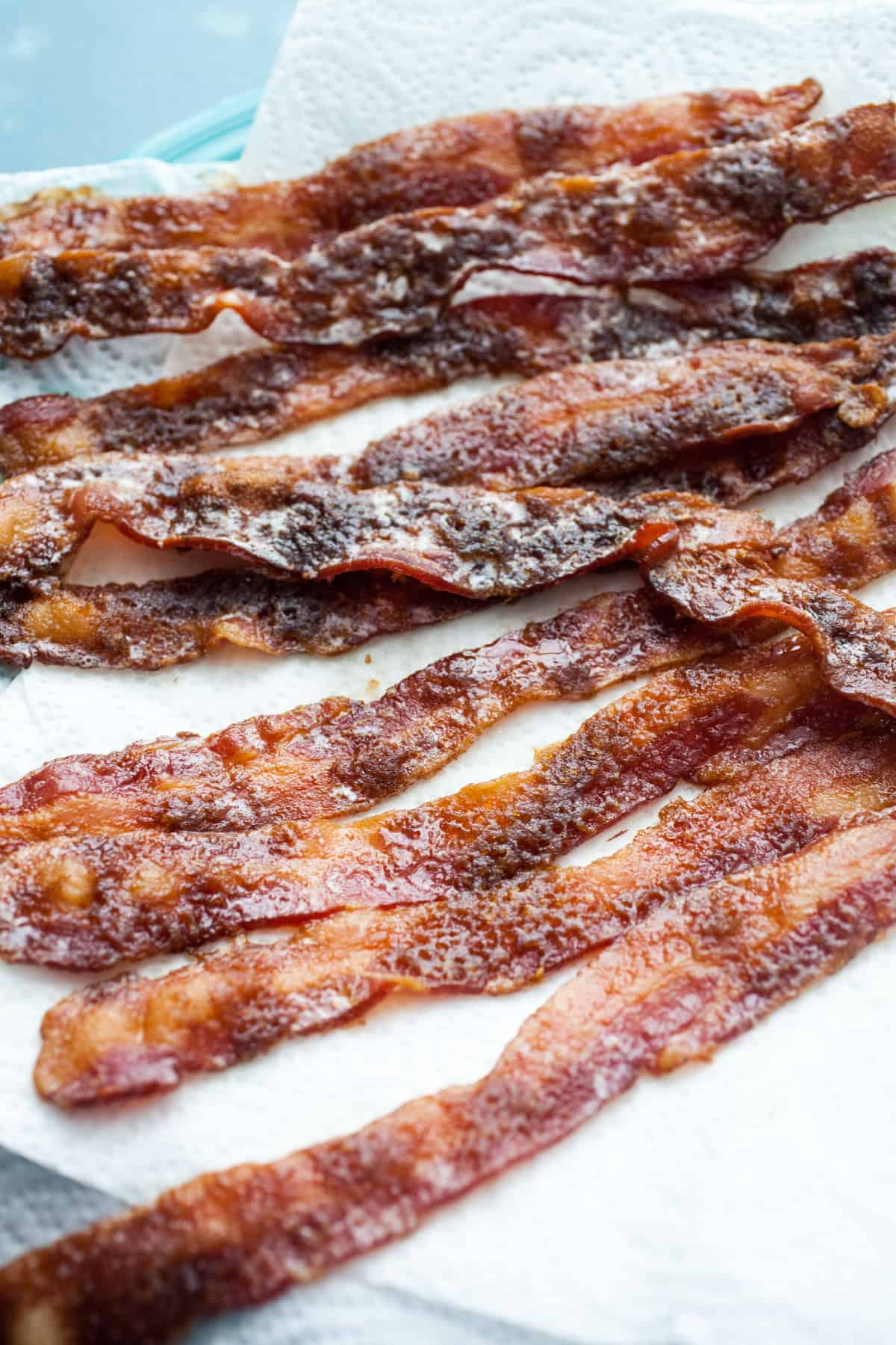 Candied Bacon for Chex Mix