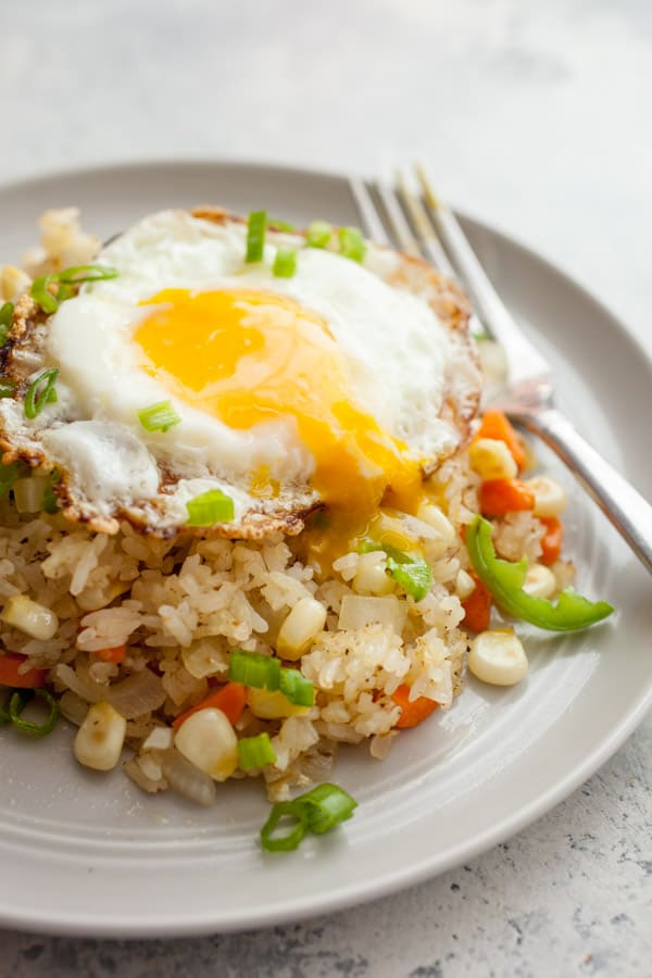 Spicy Breakfast Fried Rice