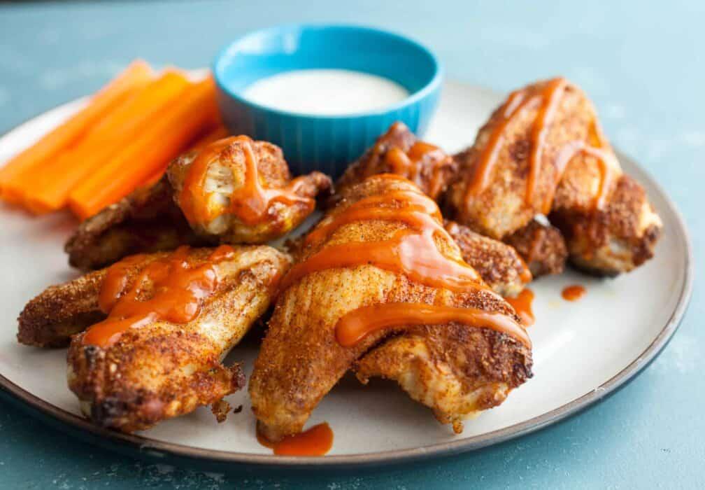 Baked Cajun Chicken Wings
