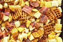 Candied Bacon Chex Mix