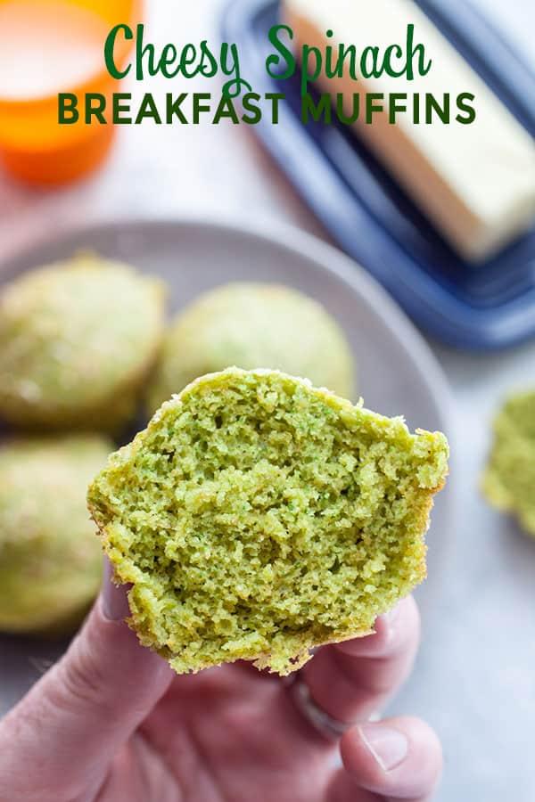 Spinach Breakfast Muffins
