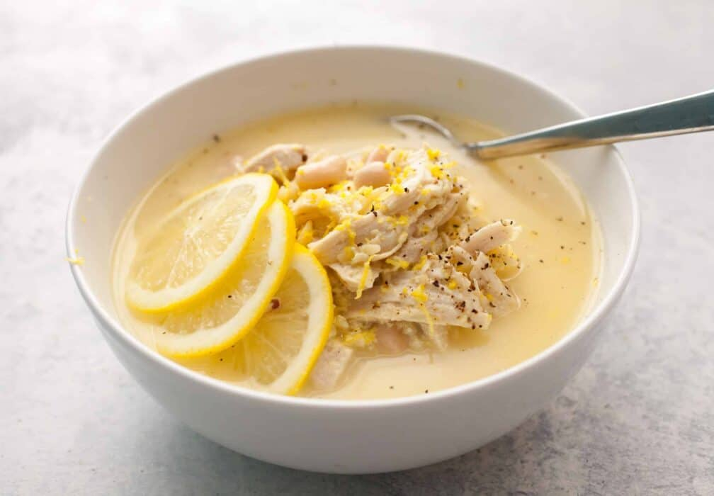 Easy Chicken Avgolemono Soup