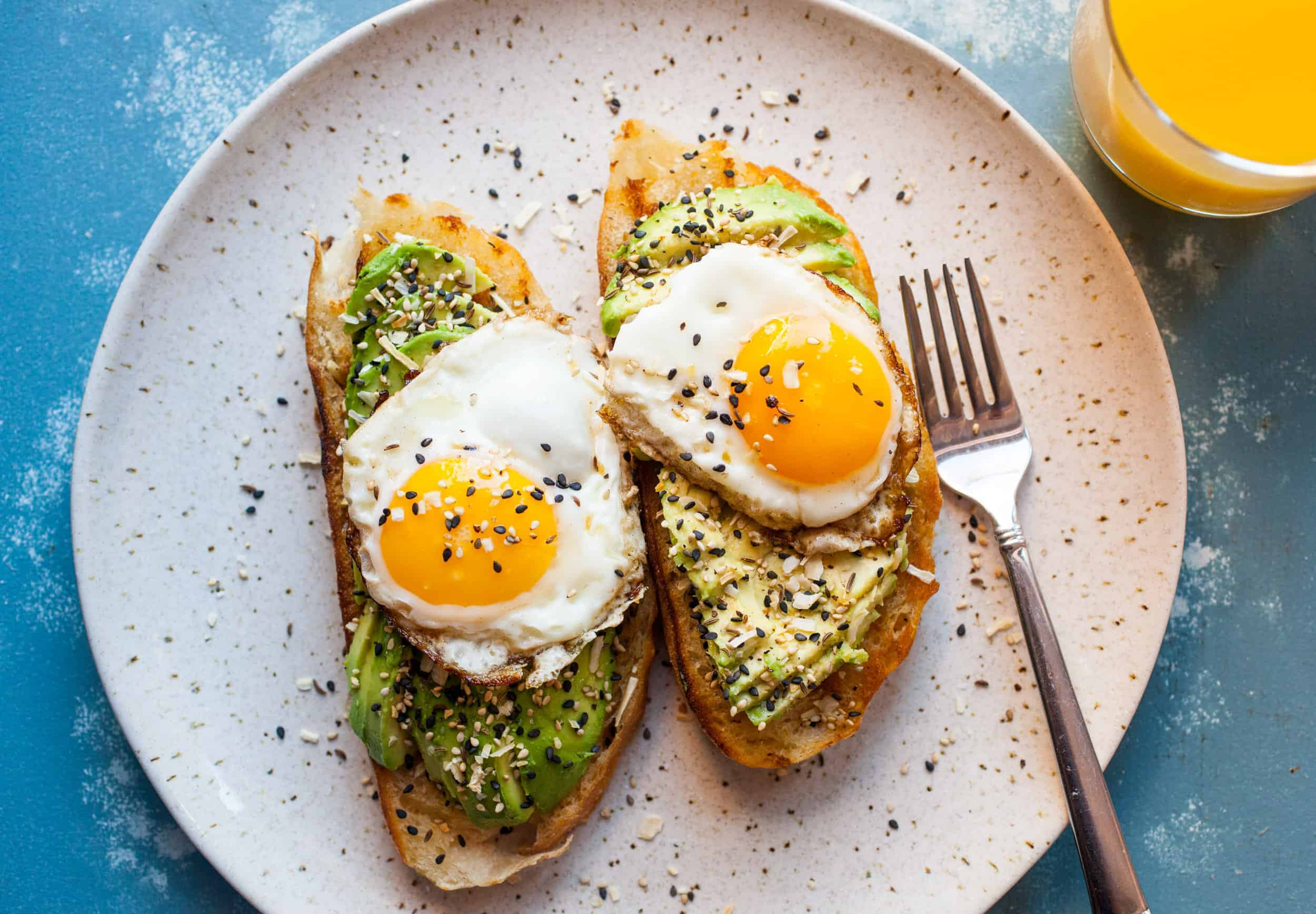 Everything Avocado Toast Recipe Healthy Breakfast Macheesmo
