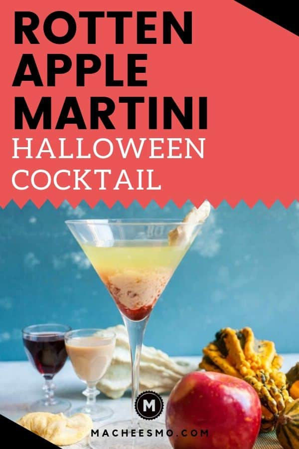 Rotten Apple Halloween Martini