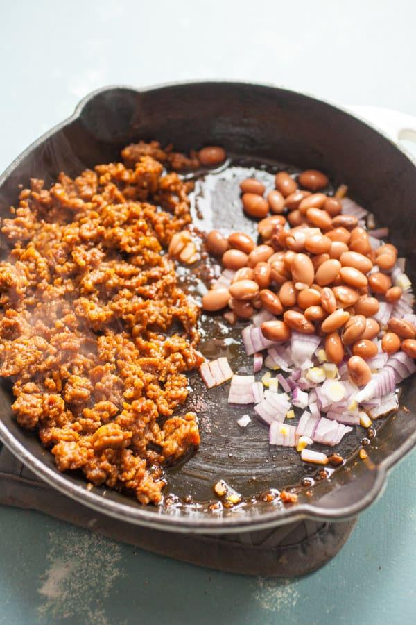 Chorizo for Breakfast Tortas