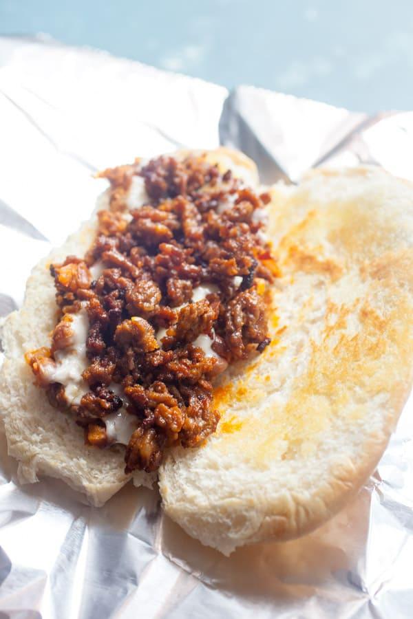 Chorizo Breakfast Torta