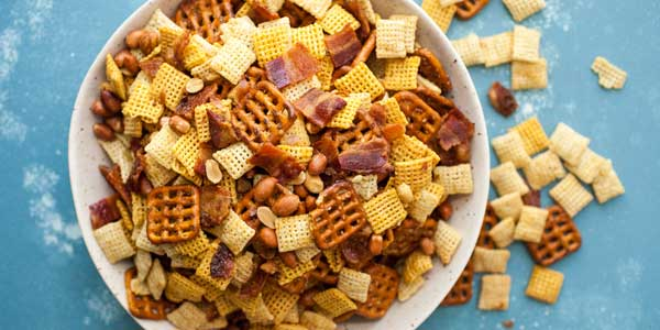 Chex Mix for Snack Time during Easy Weeknight Meals