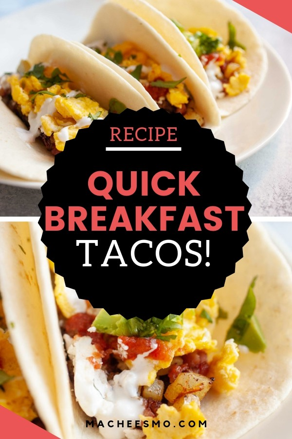 Quick Breakfast Tacos with Ham and Potatoes