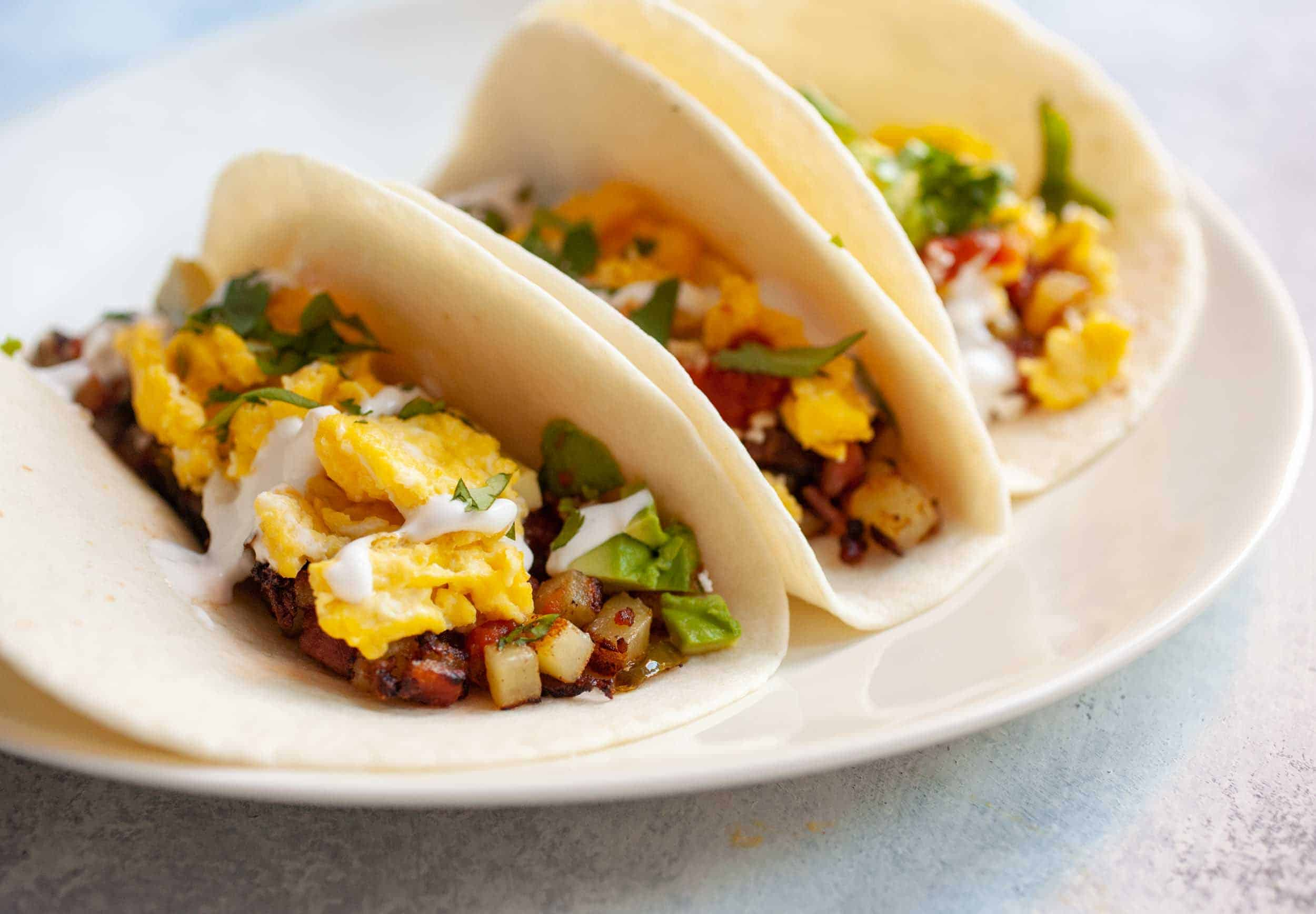 Quick Breakfast Tacos