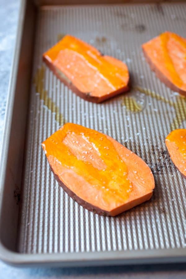 Sweet Potato Toasts