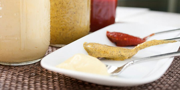 Condiments for easy weeknight meals