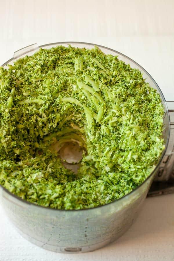 Processed broccoli - Broccoli Hash Browns