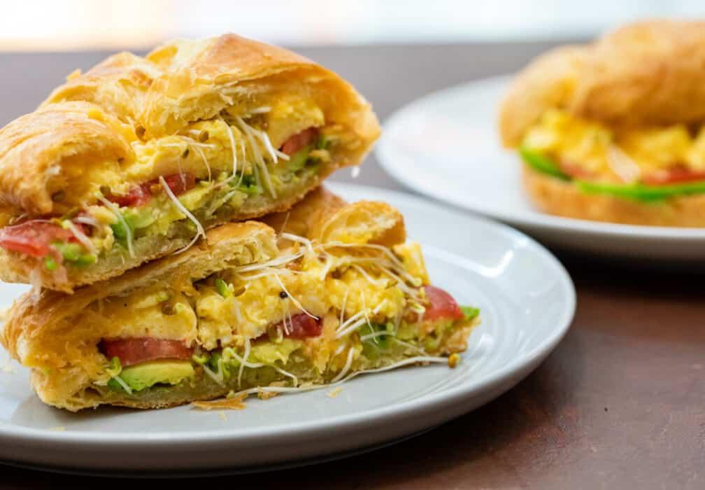 Breakfast Croissant Sandwich